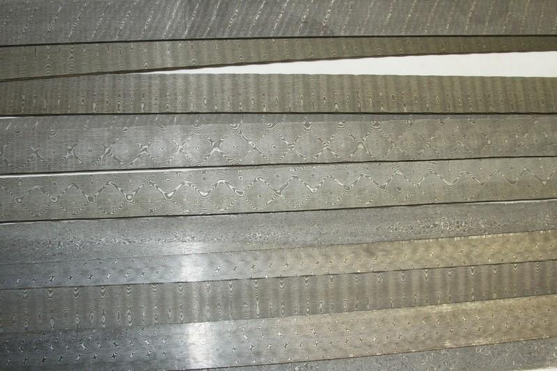 Vente d 39 acier et de damas pour la coutellerie for Achat plaque inox