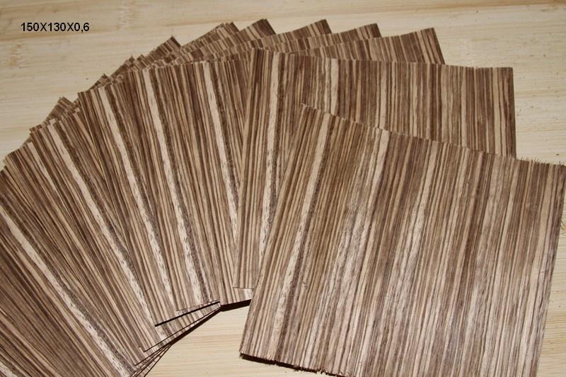 Feuille de placage zebrano - Feuille de placage bois ...