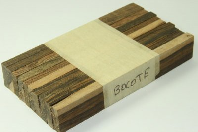 Destockage, plaquettes en lot de 10, Bocote, ref:DPBoc--0